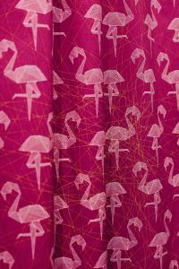 Kaboompics - Pink Flamingo Fabric