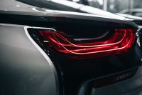 Breaklight of the car BMW i8