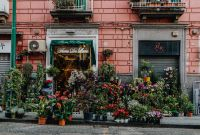 Kaboompics - Flower shop in Naples