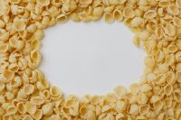 Kaboompics - Conchiglie Pasta with Copy Space