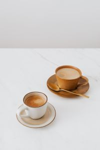 Kaboompics - Coffee on Marble