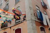 Kaboompics - Streets decorated for the Saint Anthony Feast in Bairro Alto, Lisbon, Portugal