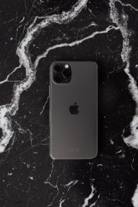 Kaboompics - Apple iPhone 11 Pro on marble