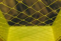 Kaboompics - Close-ups of yellow wire netting
