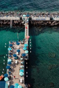 Kaboompics - View of the sea and the beaches of Sorrento, Italy