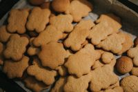 Kaboompics - Homemade gingerbread cookies