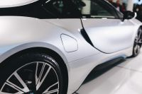 Kaboompics - Photo of silver BMW i8