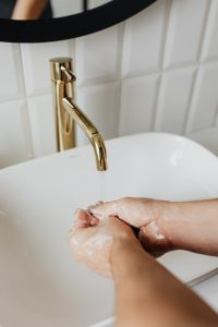Kaboompics - Coronavirus - Wash your hands - soap - COVID-19