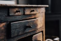 Kaboompics - Vintage furniture, drawers