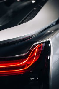Kaboompics - Breaklight of the car BMW i8