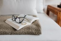 Kaboompics - Book and Glasses
