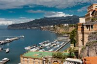 Kaboompics - Aerial view of Sorrento city, amalfi coast, Italy