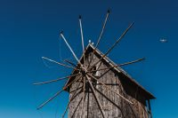Kaboompics - Old windmill at the entrance to the Old Town of Nessebar, Bulgaria
