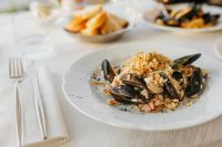 Kaboompics - Risotto with seafood
