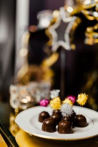 Kaboompics - New Year's Eve party - chocolate pralines