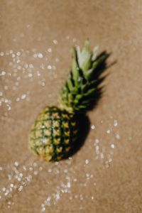 Kaboompics - Blurred photo of a pineapple
