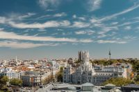 Kaboompics - The post office building in Plaza de Cibeles Square in Madrid, Spain