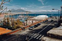 Kaboompics - Panorama of the city Naples and the volcano Vesuvius