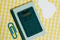 Kaboompics - School accessories at abstract background