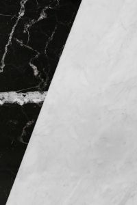 Kaboompics - Marble white and black texture background