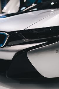 Kaboompics - Detail of the car BMW i8