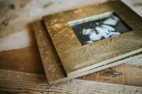 Kaboompics - Golden photo frames