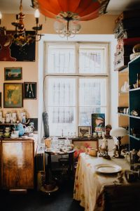 Kaboompics - Antique shop filled with antiquity, interior, old window