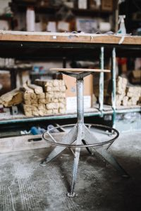 Kaboompics - Old industrial stool