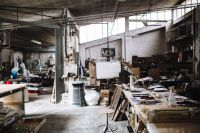 Kaboompics - Industrial interior - Venini glass factory