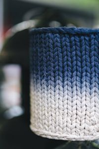 Kaboompics - Woolen lamp covers