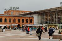 Kaboompics - Manufaktura - an arts centre, shopping mall, and leisure complex in Łódź, Poland