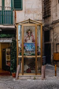 Kaboompics - A religious shrine in the back streets of the old city of Naples