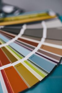 Designer colour samples