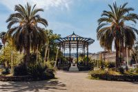 Kaboompics - View of Cassa Armonica at the Villa Comunale, Naples, Italy