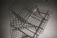 Kaboompics - Metal wire chair