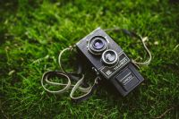 Kaboompics - Vintage black camera