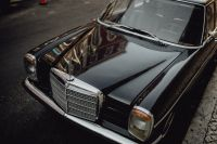 Kaboompics - An old Mercedes Benz parked in the street
