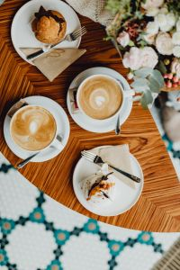 Kaboompics - Delicious coffee & dessert in the Beza café in Lodz, Poland