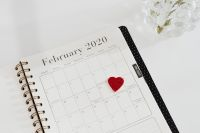 Kaboompics - Weekly Planner - Valentines - 14th February