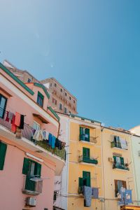 Kaboompics - Bright colored buildings in Sorrento, Italy