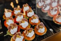 Kaboompics - Parma ham and Mozzarella Appetizer
