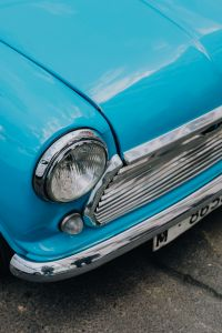 Kaboompics - CLOSE-UP OF MINI COOPER VINTAGE