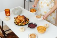 Kaboompics - Preparing a Thanksgiving dinner - festive meal