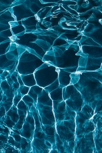Kaboompics - Wavy water surface in a swimming pool